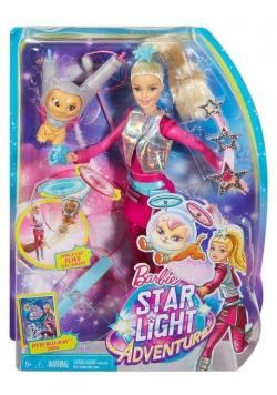 Lalka Barbie i latający kotek Gwiezdna Przygoda
