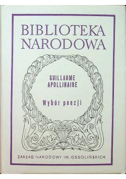 Apollinaire Wybór poezji