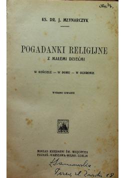 Poradniki religijne z małemi dziećmi 1928 r.