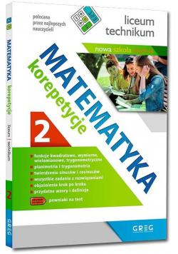 Matematyka - korepetycje, liceum cz.2