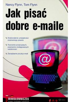 Jak pisać dobre emaile