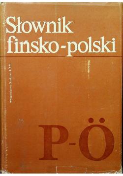 Słownik fińsko polski tom II