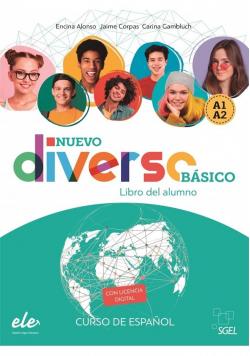 Diverso basico Nuevo A1+A2 podręcznik + online