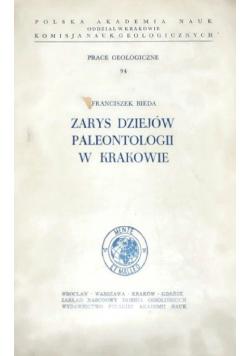 Zarys dziejów paleontologii w Krakowie