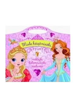 Małe księżniczki. Naklejki, kolorowanki, zadania