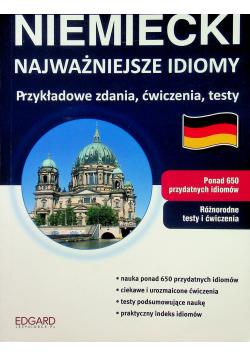 Niemiecki Najważniejsze idiomy