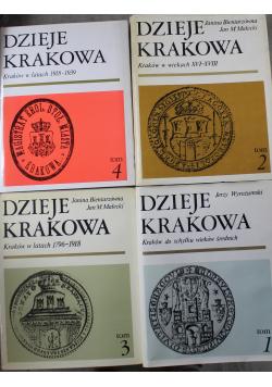 Dzieje Krakowa 4 Tomy