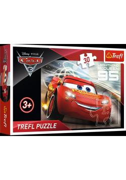 Puzzle 30 Zygzak McQueen TREFL NOWA
