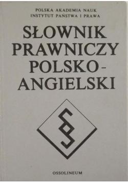 Słownik prawniczy polsko-angielski