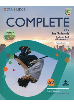 Complete Key for Schools Workbook without answers