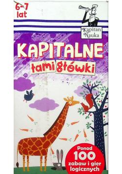Kapitan Nauka Kapitalne łamigłówki 6 7 lat