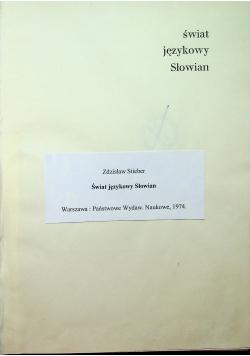 Świat językowy Słowian