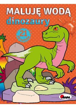 Maluję wodą Dinozaury