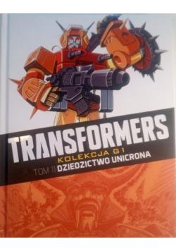 Transformers tom 11 Dziedzictwo unicorna