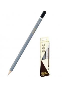 Ołówek techniczny H (12szt) GRAND