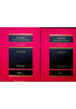 System Prawa Karnego Procesowego Tom 8 Dowody Część 3 i 4