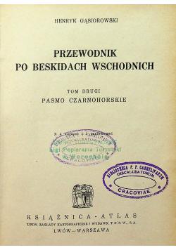 Przewodnik po Beskidach Wschodnich Tom 2 1933 r.