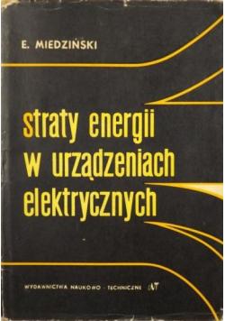 Straty energii w urządzeniach elektrycznych