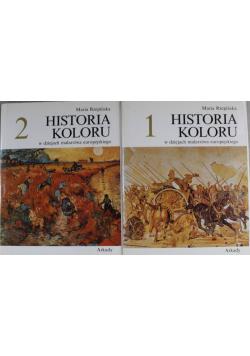 Historia koloru w dziejach malarstwa europejskiego 2 tomy