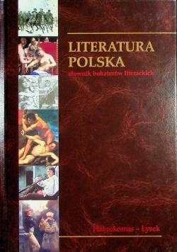 Słownik bohaterów literackich Tom 12 Habrokomas - Łysek