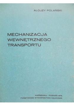 Mechanizacja wewnętrznego transportu