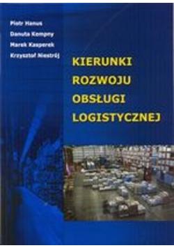 Kierunki rozwoju obsługi logistycznej
