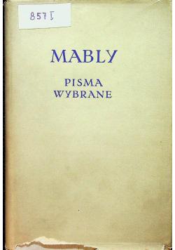 Mably Pisma wybrane
