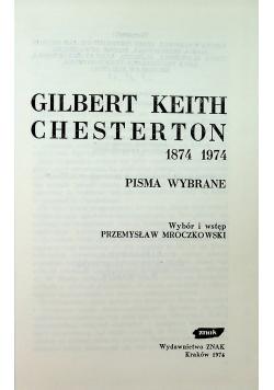 Chesterton 1874 1974
