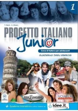 Progetto Italiano Junior 1a ćwiczenia