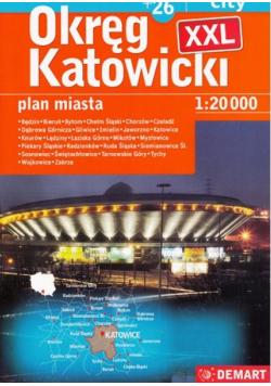 Okręg Katowicki atlas XXL