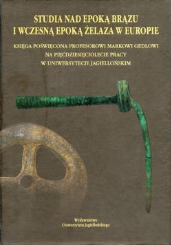 Studia nad epoką brązu i wczesną epoką żelaza w Europie