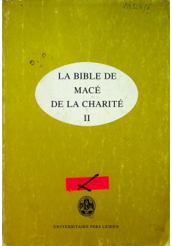 La Bible de Mace de la Charite II