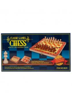 Gra szachy drewniane