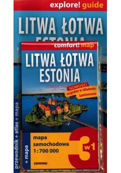 Explore   guide Litwa Łotwa Estonia 3 w 1