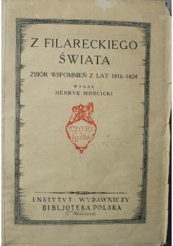 Z filareckiego świata Zbiór wspomnień z lat 1816 1824