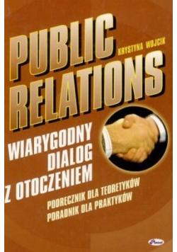 Public Relations Wiarygodny dialog z otoczeniem