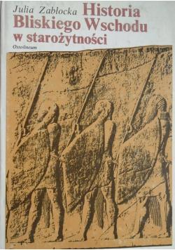 Historia Bliskiego Wschodu w starożytności