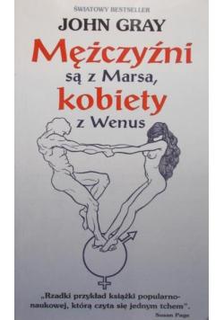 Mężczyźni są z Marsa, kobiety z Wenus