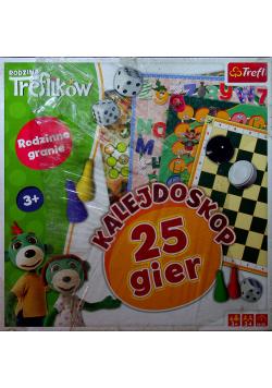 Rodzina Treflików Kalejdoskop 25 gier