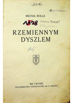 Rzemiennym dyszlem 1914 r.