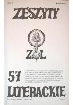 Zeszyty literackie 57 1/1997
