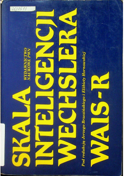 Skala inteligencji Wechslera WAIS R