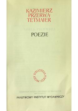 Poezje Kazimierz Przerwa Tetmajer