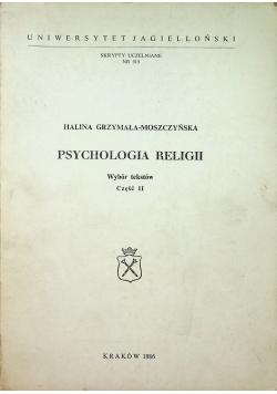Psychologia religii