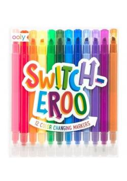 Flamastry zmieniające kolor Switch-Eroo 12 sztuk