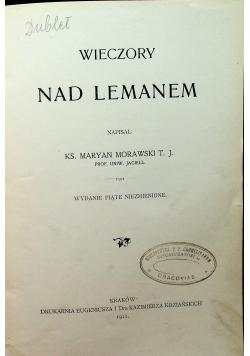 Wieczory nad Lemanem 1911 r