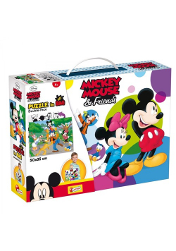 Puzzle Double-Face in bag 60 Mickey Mouse & Friends