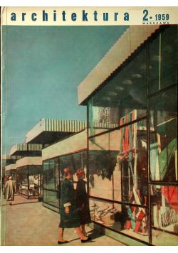Architektura 2 1959