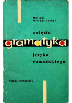 Zwięzła gramatyka języka rumuńskiego