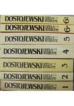 Dostojewski Dzieła wybrane 7 tomów